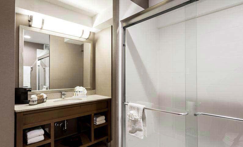 Best Western Grant Park Hotel, Illinois - Bathroom