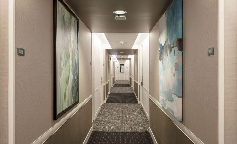 Best Western Grant Park Hotel, Illinois - Guest Room Hallway
