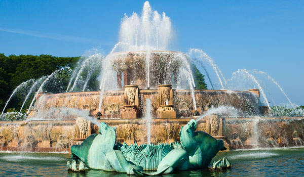 Buckingham Fountain in Illinois