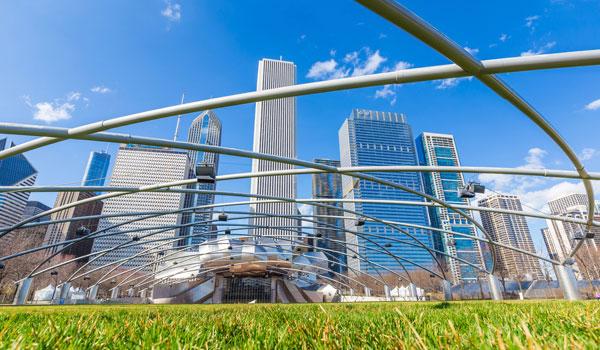 Millennium Park at Chicago